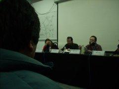 Tanya Cosío, Pablo Salmeron y Jaime Coello Manuell, por Ketzalli Torres.