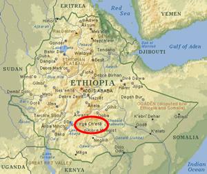 Kaffa, Etiopia