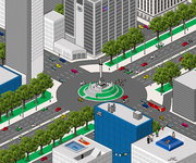 Pixel Art - Mexico DF por Jonathan Israel Carbajal JIC
