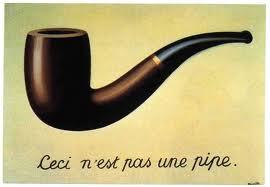 Ceci n'est pas une pipe de Rene Magritte