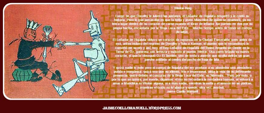 Una minificción sobre Leñador de Hojalata